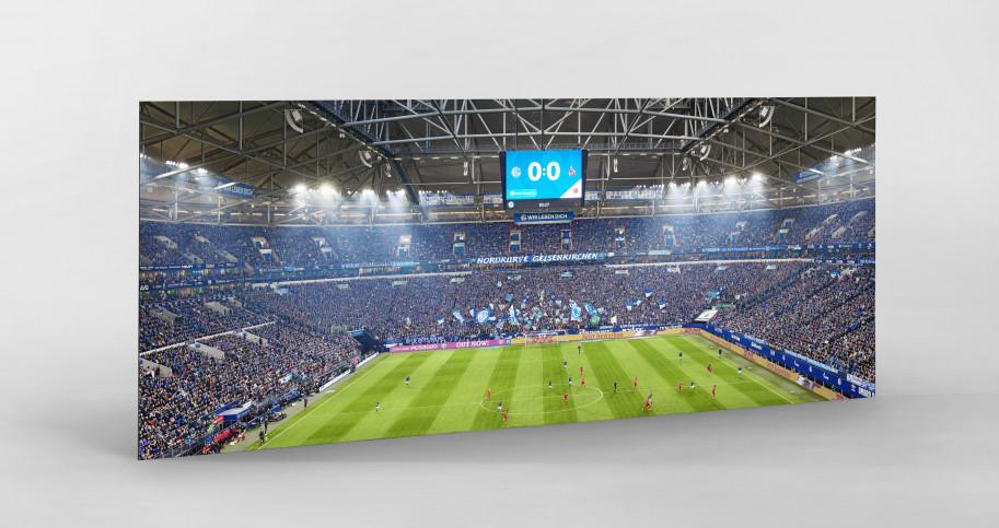 Gelsenkirchen (2019) - Stadionfoto Schalke 04 als Wandbild