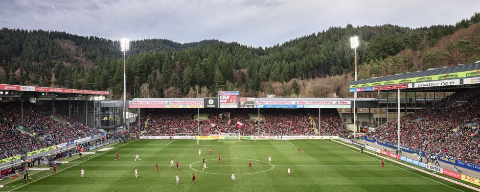 Freiburg (2020) - Schwarzwald-Stadion - Fußball Wandbild - 11FREUNDE SHOP