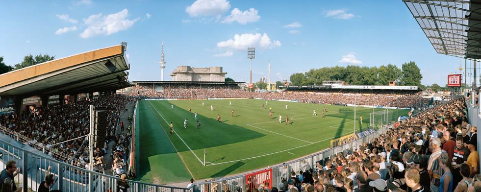 FC St. Pauli Millerntor Aufnahme von 2009 - 11FREUNDE BILDERWELT