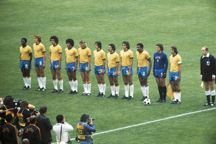Brasilien 1974 Mannschaftsfoto - 11FREUNDE BILDERWELT