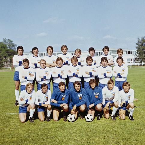DDR Nationalmannschaft 1974 - 11FREUNDE BILDERWELT