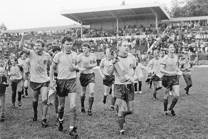 Lok FDGB-Pokalsieger 1986 - 1. FC Lokomotive Leipzig - 11FREUNDE BILDERWELT
