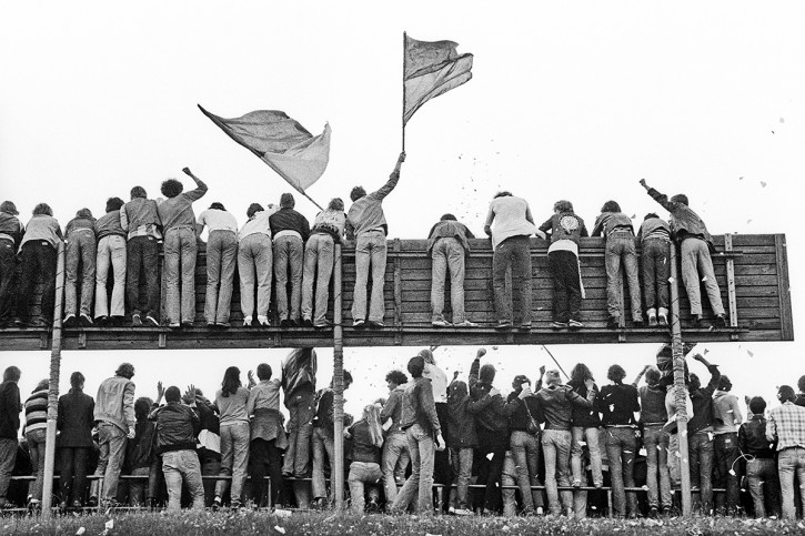 Braunschweig Fans 1981 - 11FREUNDE SHOP - Fußball Foto Wandbild