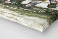 Cottbus jubelt im Pokal (2) als Leinwand auf Keilrahmen gezogen (Detail)