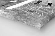 Urbanczyk am kurzen Pfosten als Leinwand auf Keilrahmen gezogen (Detail)