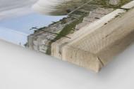 Palmen in Port Elizabeth als Leinwand auf Keilrahmen gezogen (Detail)