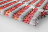 Sitzschalen in Port Elizabeth als Leinwand auf Keilrahmen gezogen (Detail)