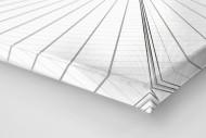 Dachkonstruktion im Nationalstadion Warschau als Leinwand auf Keilrahmen gezogen (Detail)