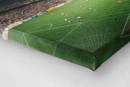 Giuseppe Meazza Stadion als Leinwand auf Keilrahmen gezogen (Detail)