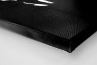 Im Flutlichtschein als Leinwand auf Keilrahmen gezogen (Detail)