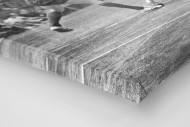 Handball 1961 als Leinwand auf Keilrahmen gezogen (Detail)
