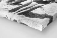 Long Boards in Long Beach als Leinwand auf Keilrahmen gezogen (Detail)