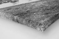 Vorbei am Friedhof bei Lüttich-Bastogne-Lüttich als Leinwand auf Keilrahmen gezogen (Detail)