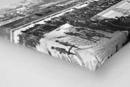 Hockey Club Davos als Leinwand auf Keilrahmen gezogen (Detail)