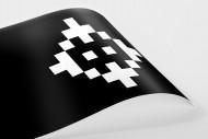 Pixel Lookalike: Mönchengladbach  als Poster