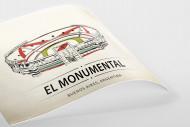 World Of Stadiums: El Monumental als Poster