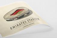 World Of Stadiums: Emirates Stadium als Poster
