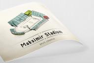 World Of Stadiums: Maksimir Stadium als Poster