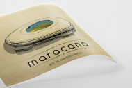 World Of Stadiums: Maracana als Poster