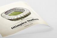 World Of Stadiums: Olimpico Stadium als Poster