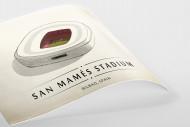 World Of Stadiums: San Mamés Stadium als Poster