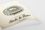 World Of Stadiums: Stade de France als Poster
