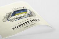 World Of Stadiums: Stamford Bridge als Poster