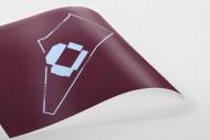 Piktogramm: Aston Villa als Poster