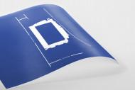 Piktogramm: Queens Park Rangers als Poster