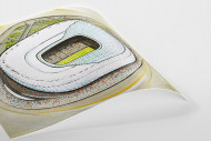 Stadia Art: Allianz Arena als Poster