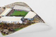 Stadia Art: Hillsborough als Poster