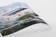 Stadia Art: Madejski Stadium als Poster