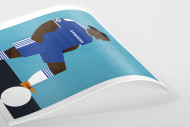 Stanley Chow F.C. - Didier als Poster