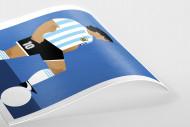 Stanley Chow F.C. - Diego (Argentina) als Poster