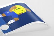 Stanley Chow F.C. - Ronaldo als Poster