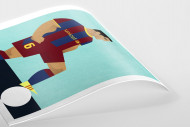 Stanley Chow F.C. - Xavi als Poster