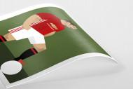Stanley Chow F.C. - Zlatan als Poster