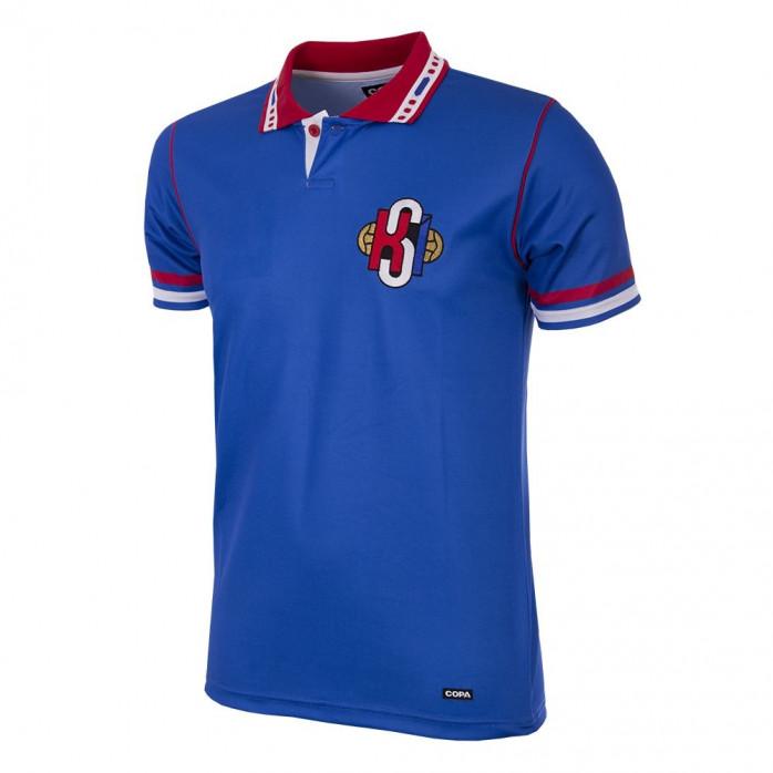 Iceland 1996 Short Sleeve Retro Football Shirt