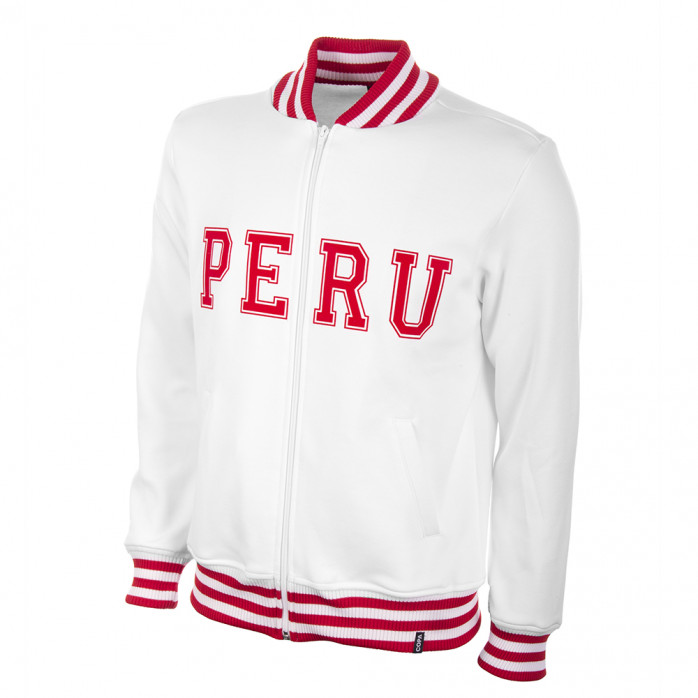 Peru 1970's Retro Football Jacket