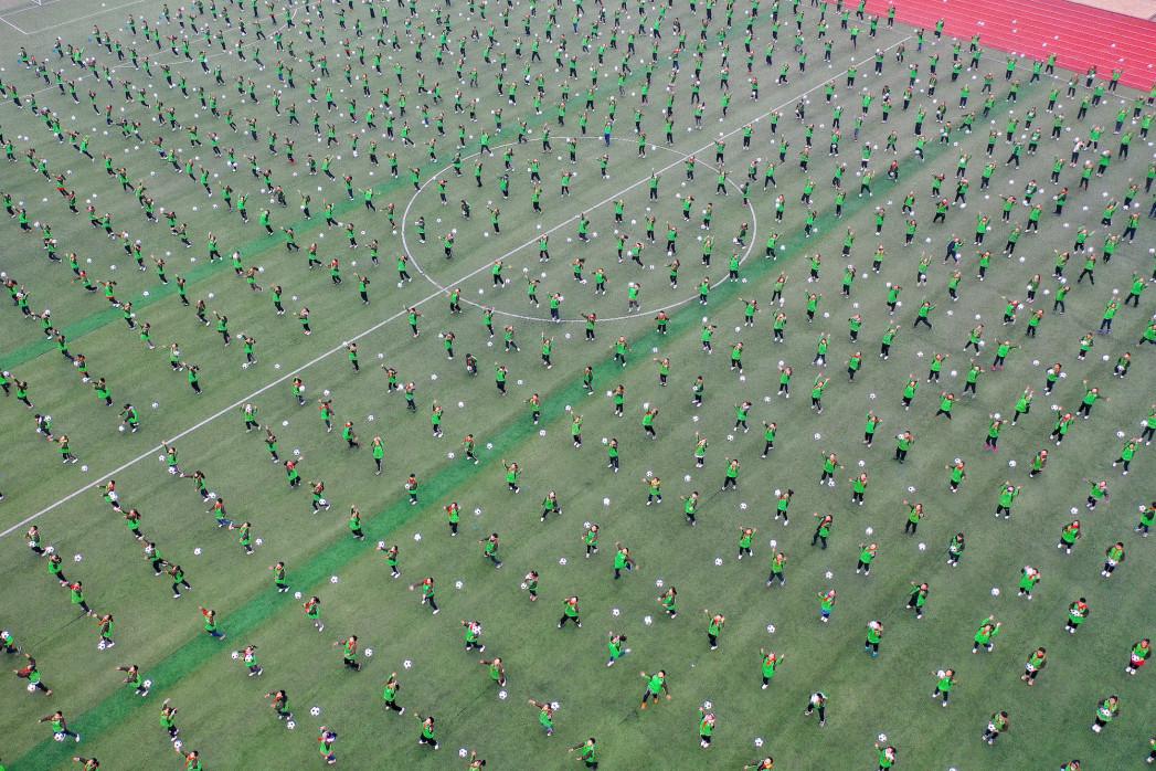 Grundschulfußball in China