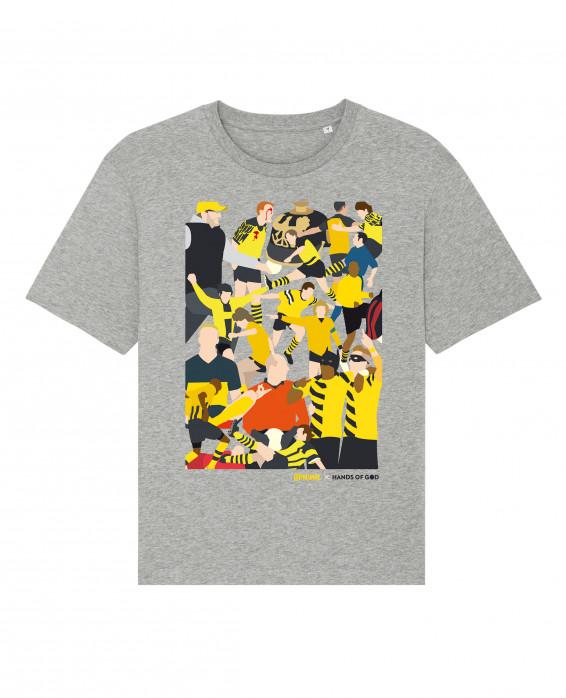 T-Shirt - Dortmund Clash (Fairwear & Bio-Baumwolle)