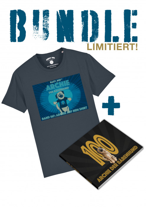 BUNDLE: T-Shirt/Bildband Drei90 Archie