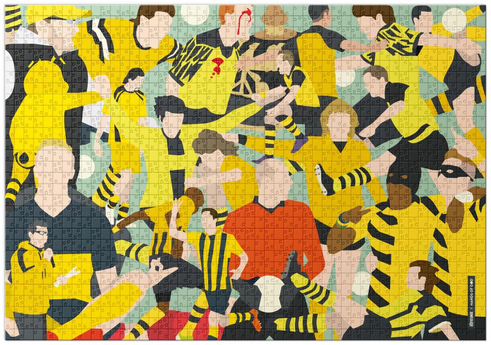 Puzzle: Dortmund Clash