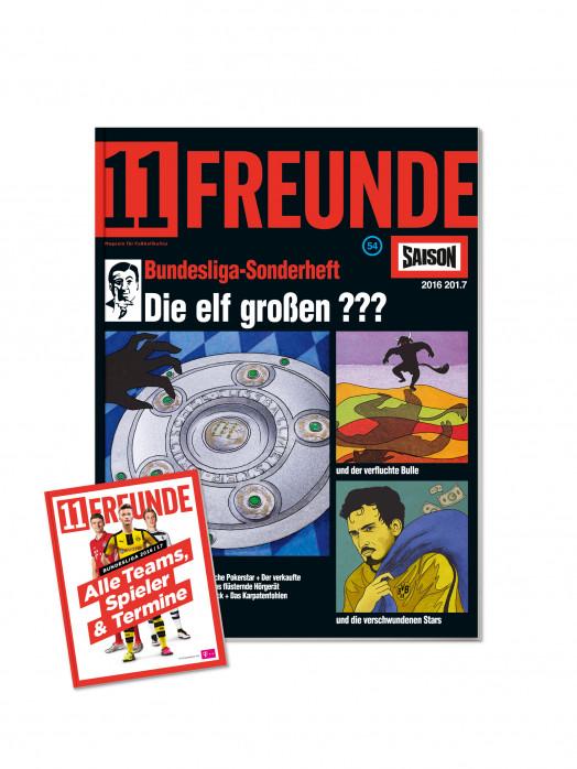 11FREUNDE Ausgabe #177 - Bundesliga-Sonderheft 2016/17