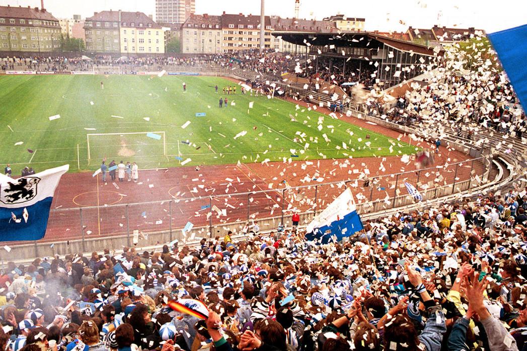 Stadion an der Grünwalder Straße (1990)