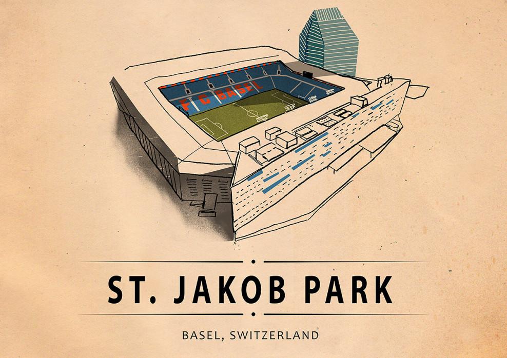 World Of Stadiums: St. Jakob Park