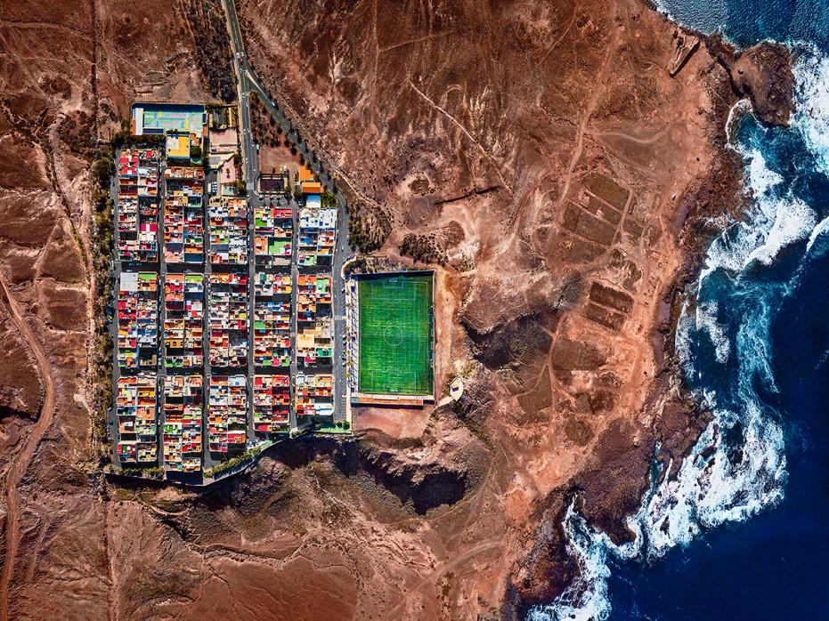 Fußballplatz auf Gran Canaria