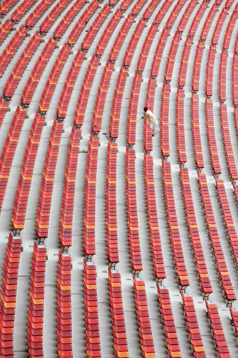 Sitzschalen in Port Elizabeth