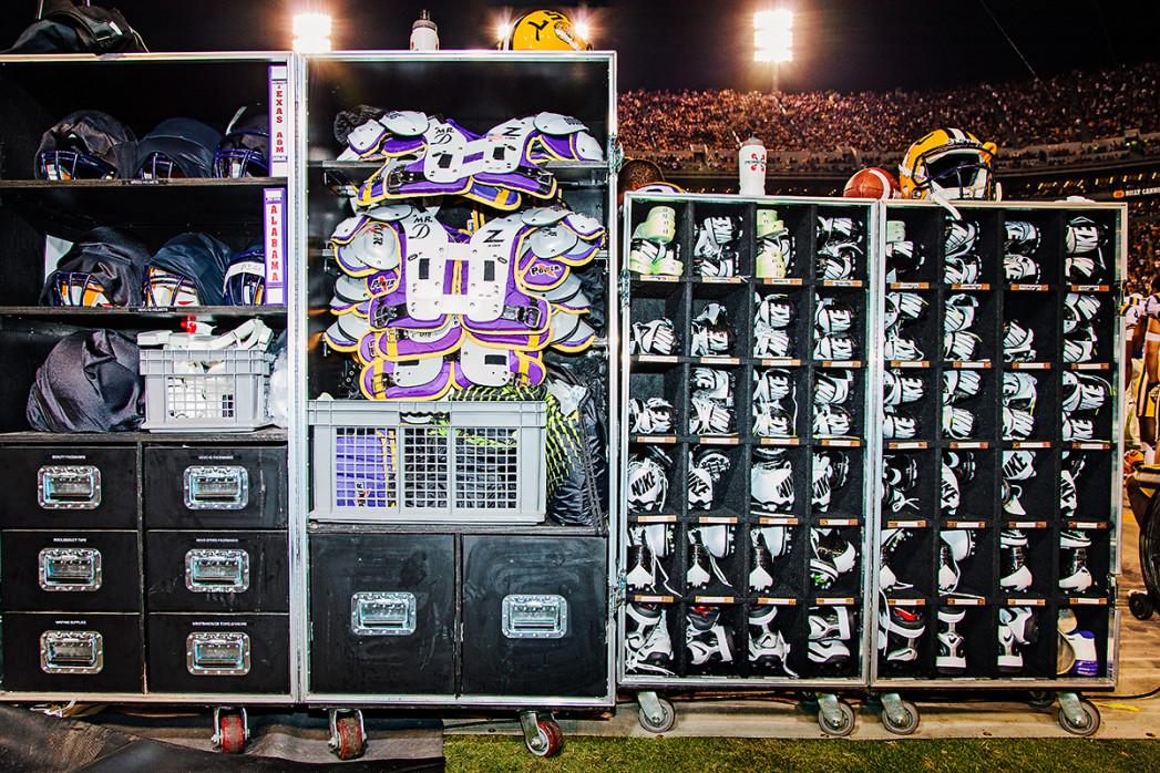 Ausrüstung LSU Tigers