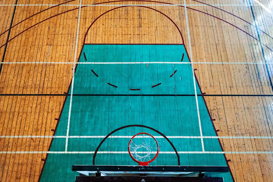 Basketballhalle in Estland